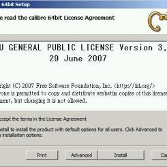 Potwierdzenie licencji oraz wybór typu instalacji